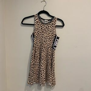 PINK Victoria's Secret Cheetah Print Dress